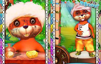 Squirrel makeover game