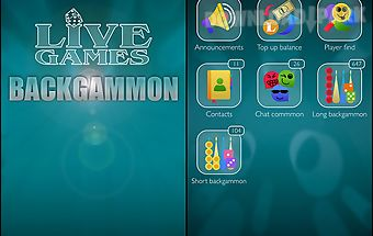 Backgammon: live games
