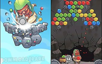 Bubble shooter: treasure pop