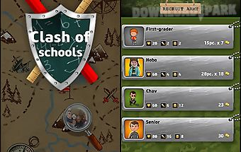 Clash of schools