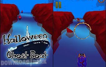 Ghost boat: halloween night