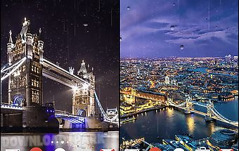 Rainy london by phoenix live wal..