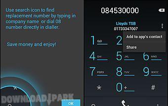 0870 0844 0800 free call
