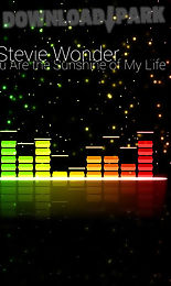 Audio glow music visualizer Android App free download in Apk