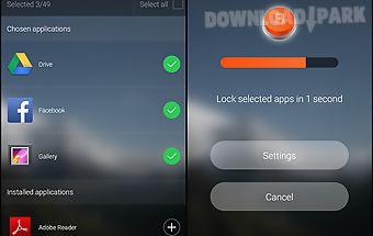 Blokker. applock of the future