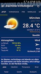 das wetter in deutschland