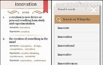 Dictionary offline dictionary