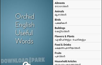 English malayalam useful words