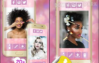 Makeup virtual beauty salon