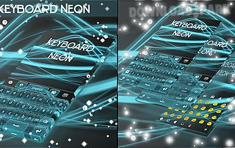 Neon keyboard for samsung