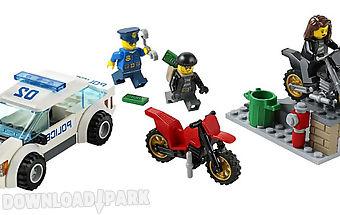 Police building set for kids