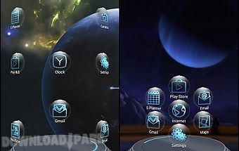 Universe next launcher theme
