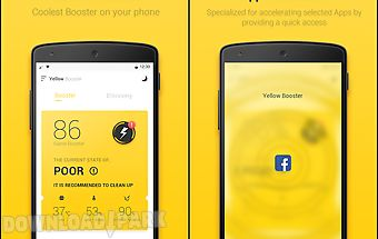 Yellow booster – clean & boost