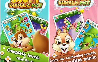 Bubble shoot pet