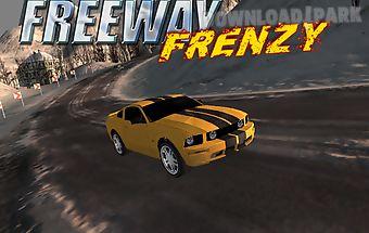 Freeway frenzy - car racing