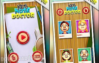 Kids nose doctor - fun game