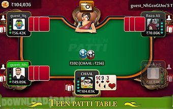 Teen patti king - flush poker