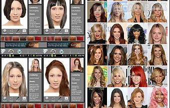 Ultimate hairstyle try-on
