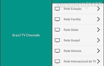 Brazil tv channels