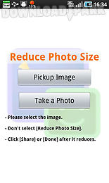 reduce photo size