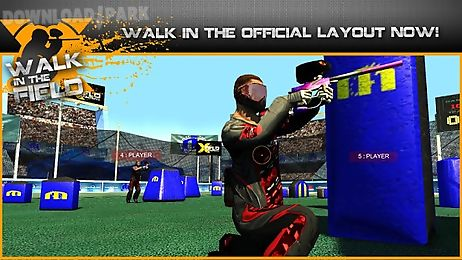 walk in the field - paintball