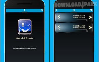 Dream talk recorder