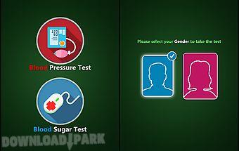 Bp and sugar test prank