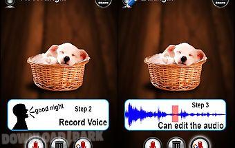 Photo audio album creater