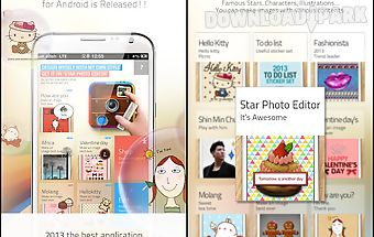 Star photo editor for android