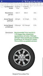 tire size calculator free