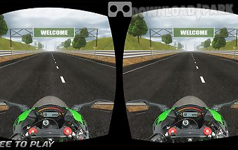 Vr traffic bike racer