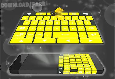 yellow keypad