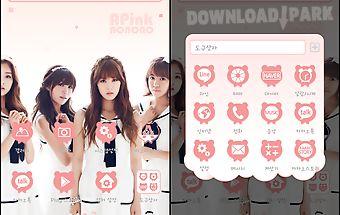 A-pink pink ver dodol theme