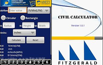 Civil calculator