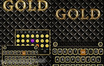 Gold theme for ikeyboard