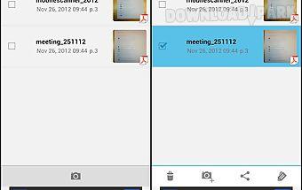 Mobile scanner (cam/doc/pdf)