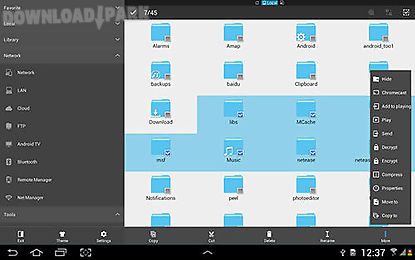 Es file explorer: file manager Android App free download in Apk