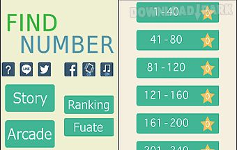 Findnumber - touch numbers -