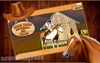 Horse riding simulator 3d 2016