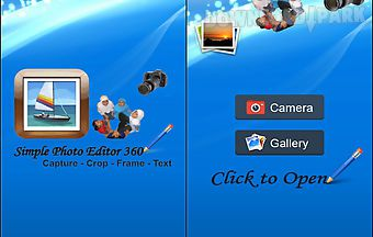 Simple photo editor 360 for andr..