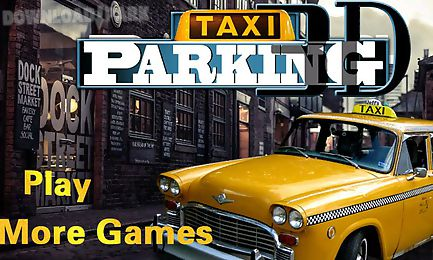 taxi driving parking 3d