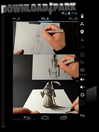 3d drawing tutorial Android App free download in Apk