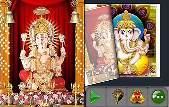 3d ganesha mantra book