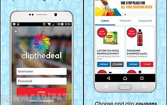 Clip the deal shopping coupons
