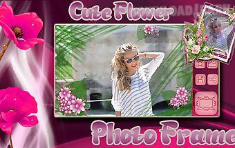 Cute flower photo frames