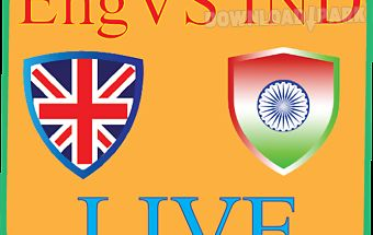 Ind vs eng -test match cricket