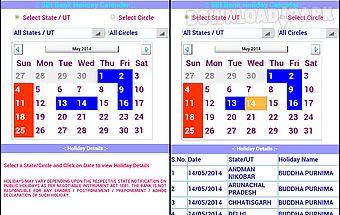 Sbi bank holiday calendar