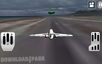 Army plane flight 3d