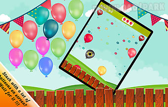 Balloon popping for kids pop