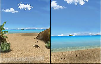 Blue sea 3d